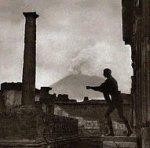 The long dead village of Pompeii